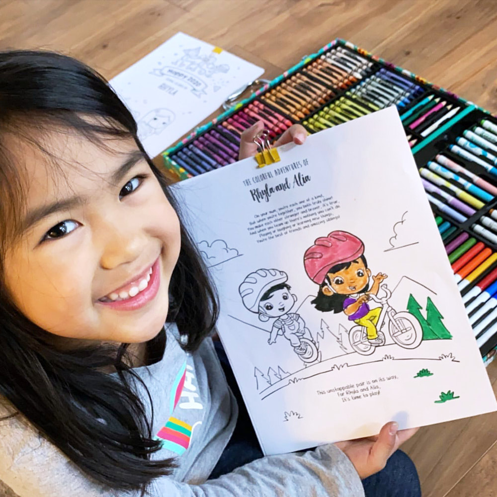 Free Personalized Coloring Books For Hundreds Of Thousands Of Children Quarantined Across The World Hooray Studios